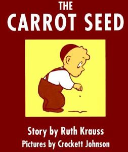The Carrot Seed -- cover