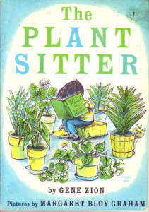 The Plant Sitter -- cover