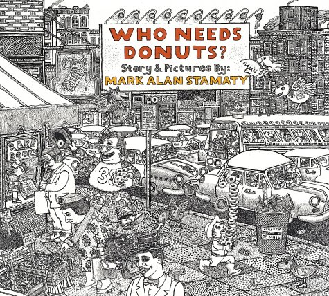 Who Needs Donuts -- cover