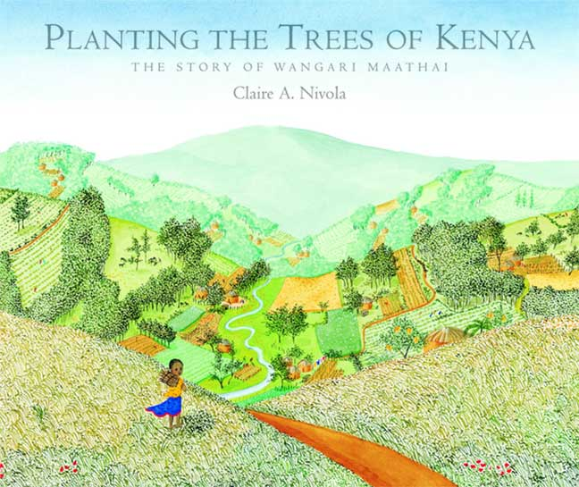 Planting the Trees of Kenya -- cover