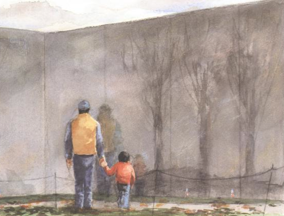 The Wall --  hands